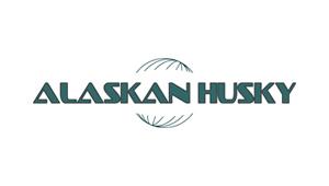 Logo alaska husky